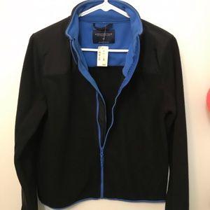 NEW Aeropostale fleece zip up sweater jacket sz M
